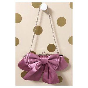 Satin Bow Bag